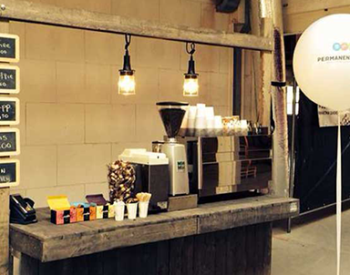 mobiele smoothiebar of espressobar